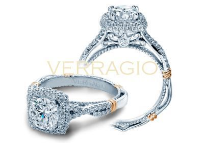 Verragio Parisian-135CU Engagement Ring