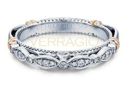 Verragio Parisian-100W Wedding Band