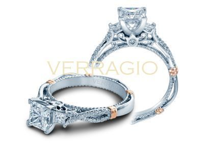 Verragio Parisian-129P Engagement Ring