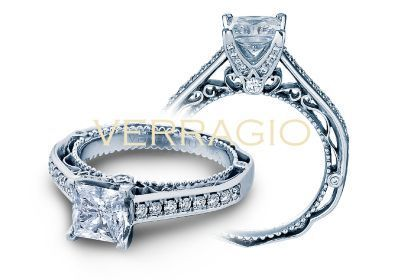 Verragio Venetian-5035P Engagement Ring