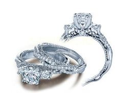 Verragio Venetian- 5013R-4 Engagement Ring