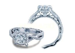 Verragio Venetian- 5027-4 Engagement Ring