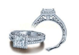 Verragio Venetian- 5007P-4 Engagement Ring
