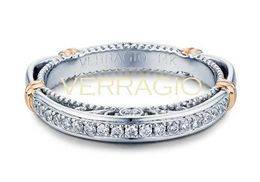 Verragio Parisian- 101SW Wedding Band