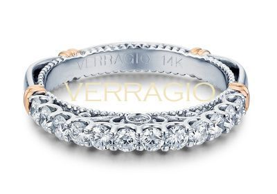 Verragio Parisian- 103LW Wedding Band