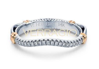Verragio Parisian- 117W Wedding Band