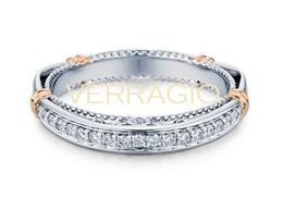 Verragio Parisian- 128W Wedding Band