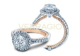 Verragio Couture- 0425DR-TT Engagement Ring
