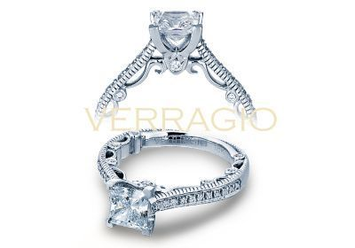 Verragio Paradiso- 3078P Engagement Ring