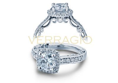 Verragio Paradiso- 3077CU Engagement Ring