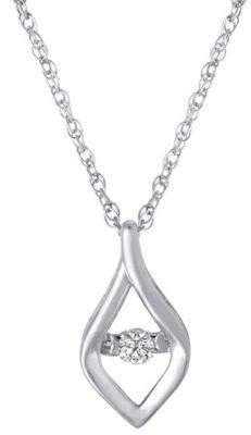 Heartbeat Diamonds Elegant Pendant