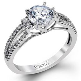 Brilliant Diamond Engagement Ring By Simon G.