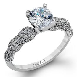 Gorgeous Diamond Engagement Ring By Simon G.
