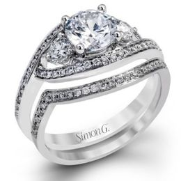 Exquisite Diamond Engagement Ring By Simon G