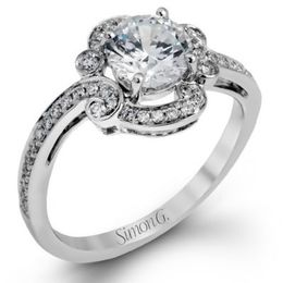 Brilliant Simon G Engagement Ring