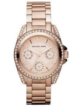 Rose Golden Michael Kors Watch MK5613