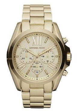 Michael Kors Rose Golden Chronograph Watch MK5605