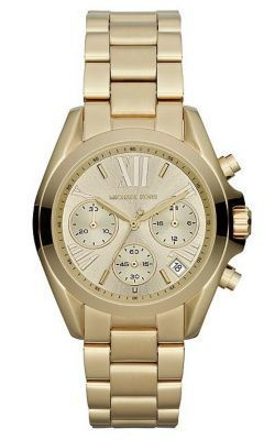 Michael Kors Golden Stainless Steel Chronograph Watch MK5798