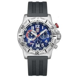 Luminox Dive Chrono Silver & Blue Watch A.8153.RP