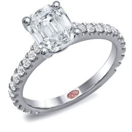 Romantic Demarco Diamond Engagement Ring