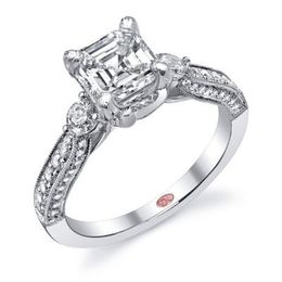 Classic Diamond Engagement Ring By Demarco