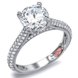 Sparkling Demarco Engagement Ring