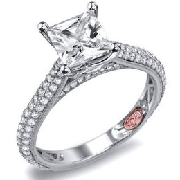 Radiant Demarco Diamond Engagement Ring