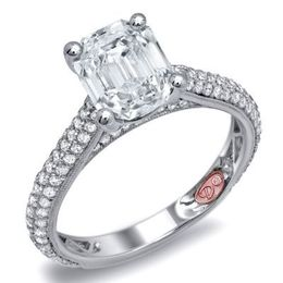 Alluring Diamond Engagement Ring By Demarco