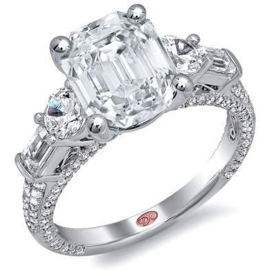Romantic Demarco Engagement Ring