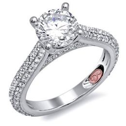 Gorgeous Diamond Engagement Ring By Demarco