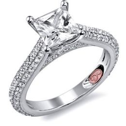 Shimmering Demarco Engagement Ring