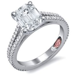 Lovely Demarco Diamond Engagement Ring