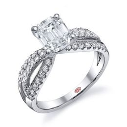Emerald Cut Demarco Engagement Ring