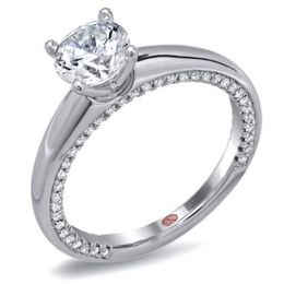Demarco Classic Round Diamond Engagement Ring