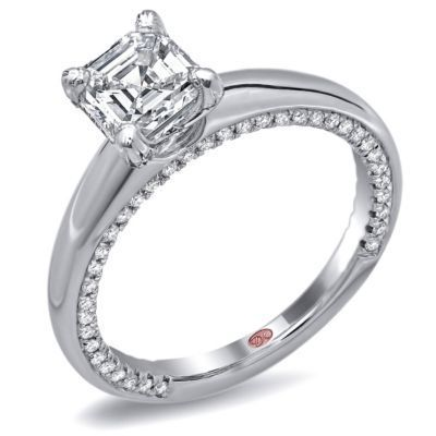 Classic Solitaire Engagement Ring By Demarco