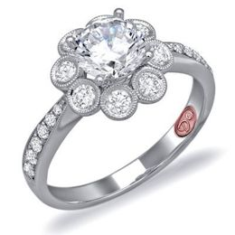 Exquisite Demarco Diamond Engagement Ring