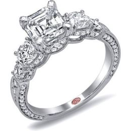 Glamorous Diamond Demarco Engagement Ring