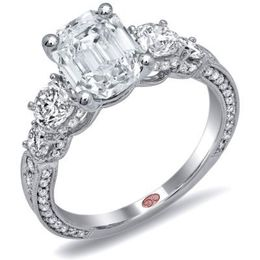 Stunning Diamond Engagement Ring By Demarco