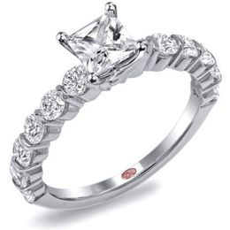 Classic Princess Cut Demarco Engagement Ring