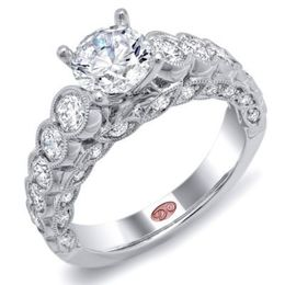 Regal Diamond Engagement Ring By Demarco