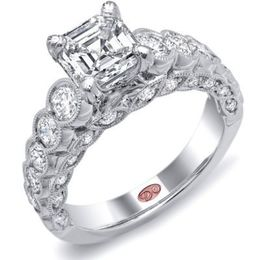 Beautiful Diamond Engagement Ring By Demarco