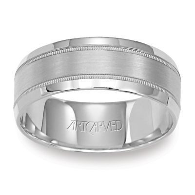 ArtCarved Wedding Band 11-WV591W55