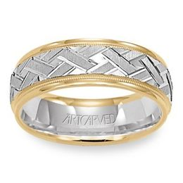 ArtCarved Wedding Band 11-WV5572