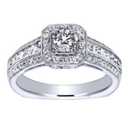 Gorgeous 14K Polenza Engagement Ring