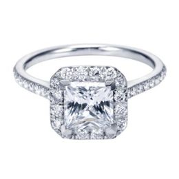Brilliant Polenza Engagement Ring