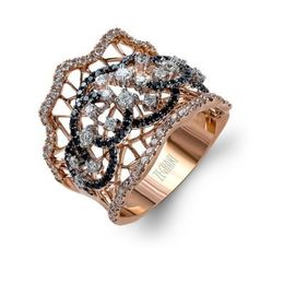 Zeghani 14K Rose Gold Fashion Ring