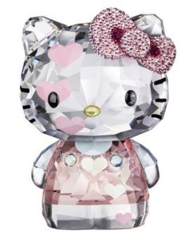 Swarovski Hello Kitty Hearts