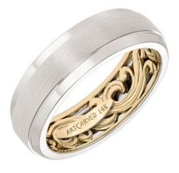 ArtCarved Wedding Band 11-WV18A7