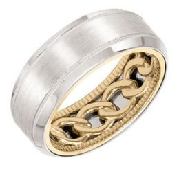 ArtCarved Wedding Band 11-WV08A8