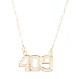 14K Yellow Gold 409 Necklace image 2